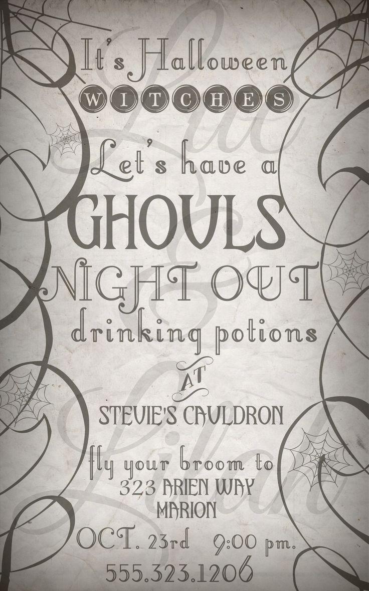 Magnificent Halloween Invitation Templates Ideas - Professional ...
