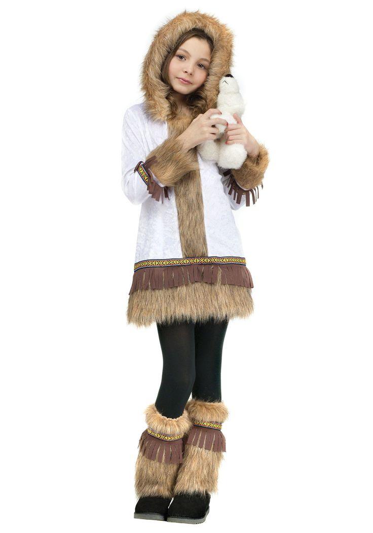 halloween costumes eskimo kids girl | Girls Eskimo Costume