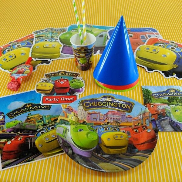 The Party Cupboard : Chuggington Birthday Party : Chuggington Themed Party : Chuggington Party Supplies