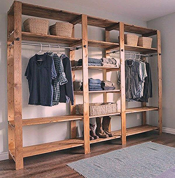 Diy Clothes Storage In 2020