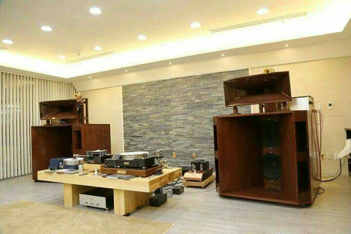 High end audio audiophile listening room