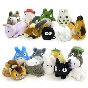 Studio Ghibli Plush. Totoro and his friends!!! ♥. Already have the blue