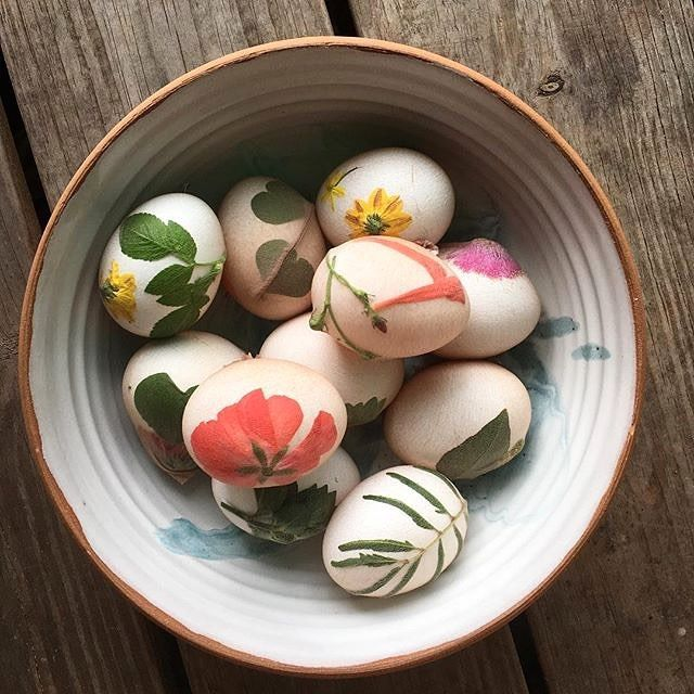 How amazing are these?!! Easter inspiration from our favorite urban farm @littlerivercooperative