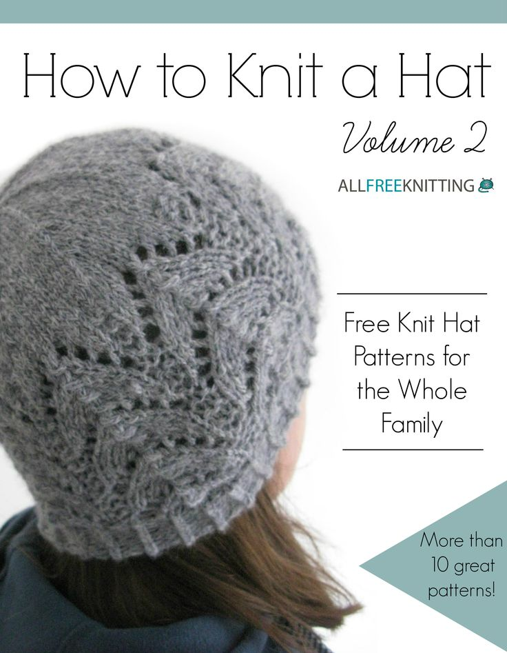 448 best images about Knitting-Adult hats on Pinterest Free pattern, Knit p...