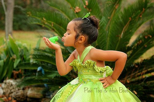 Princess Tiana Dress Princess and the frog by GlitterMeBaby, $85.00