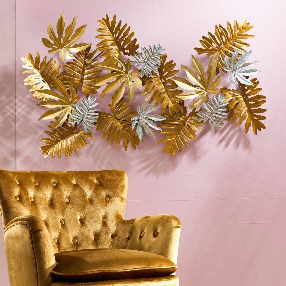wand objekt florence deko dekoration wanddekoration weltkarte wanddeko feder metall