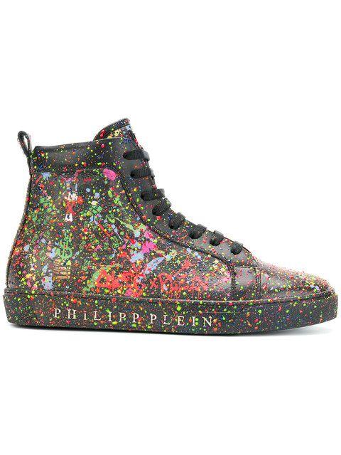 Philipp Plein Alec Two Hi-top Sneakers - Farfetch