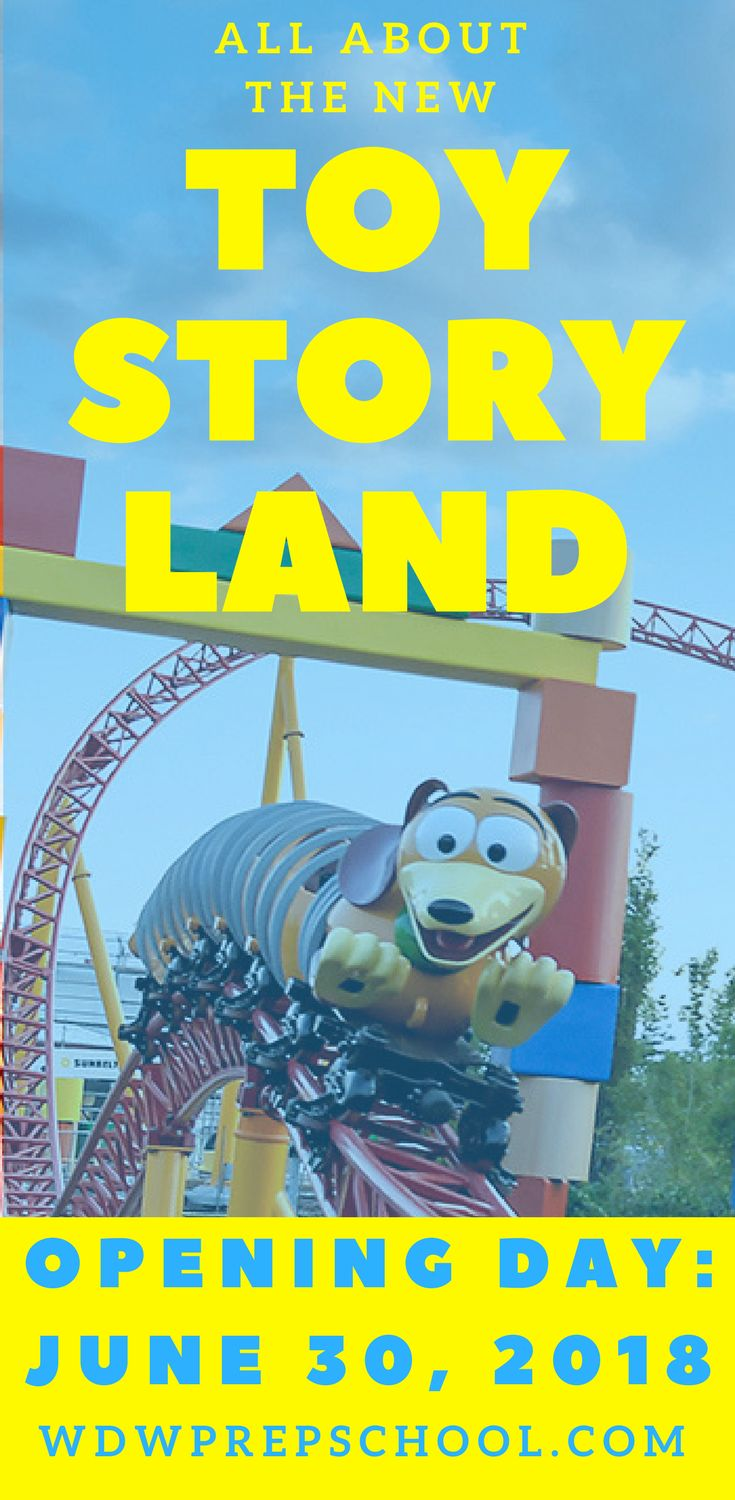 Everything we know about the brand new Toy Story Land opening June 30, 2018 at Disney's Hollywood Studios