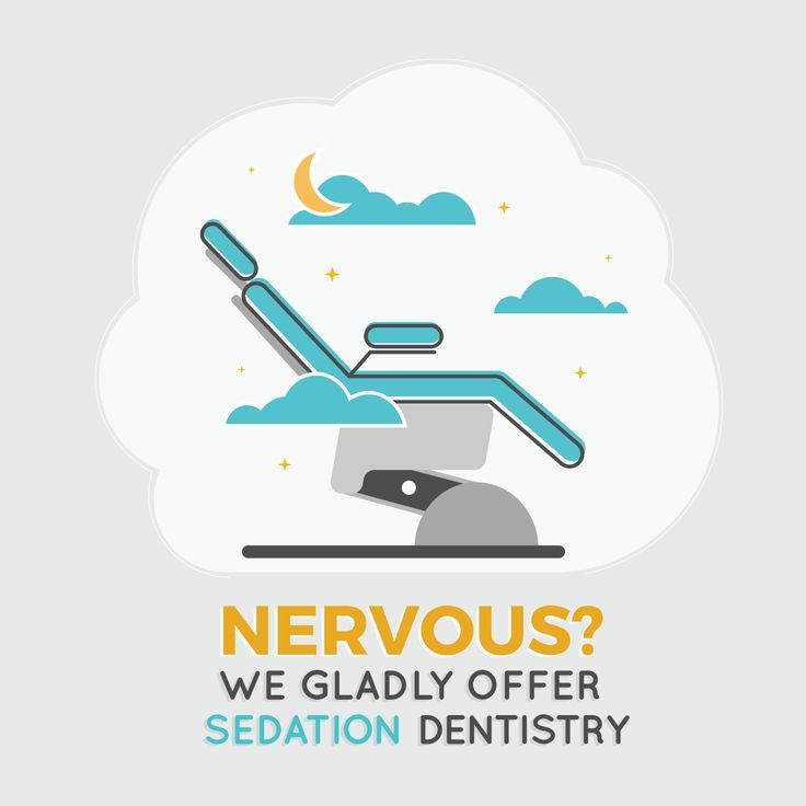 DOES GOING TO THE DENTIST make you feel stressed or nervous? Ask us about sedation dentistry to help you relax during your visit! #parkridgedentist