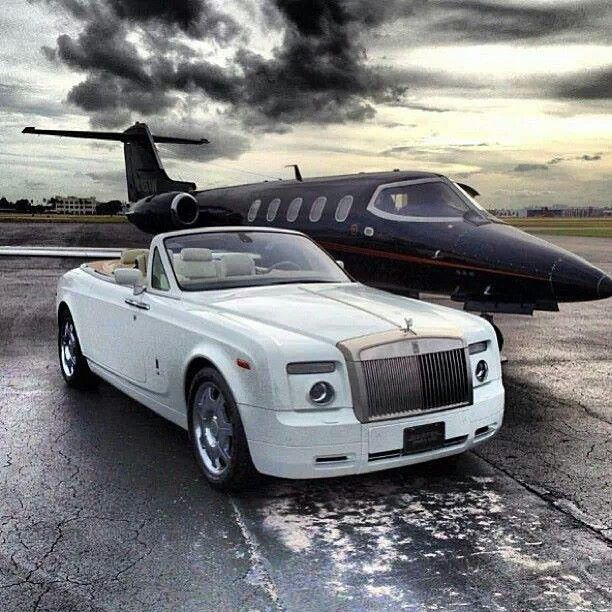 Big Boys Toys Rolls Royce Private Jet Wealth In The Air