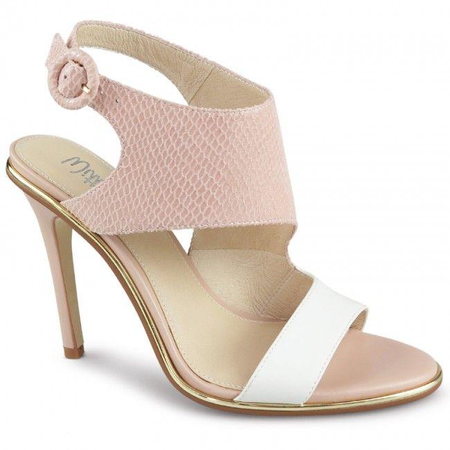Wittner Alecia Heel Pink Leather