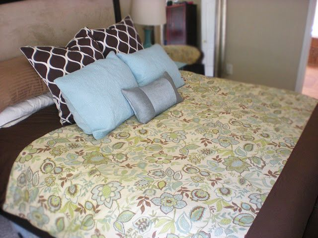 While They Snooze: Tutorial: Duvet Cover