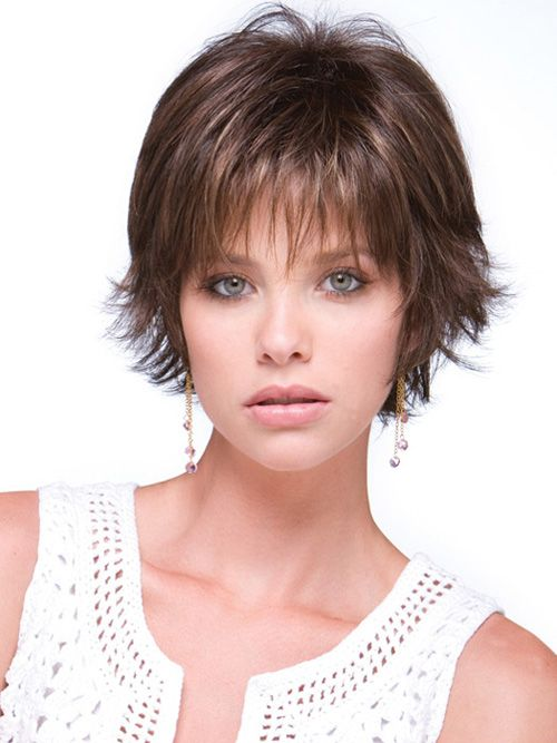 Short Layered Hairstyles for Women with Fine Hair