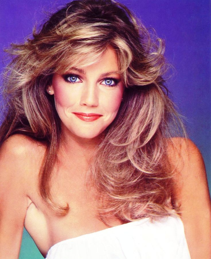 "Heather Locklear: I really miss those ""feathered"" bangs!!!"