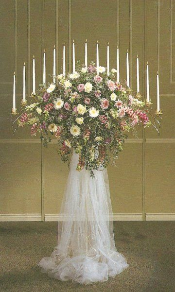 29 best church decorations wedding images on pinterest weddings tulle wedding decorations decorating with tulle junglespirit Gallery