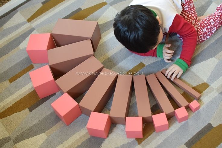In What Way Does Using the Sensorial Materials Help the Child's Whole Development Give Examples