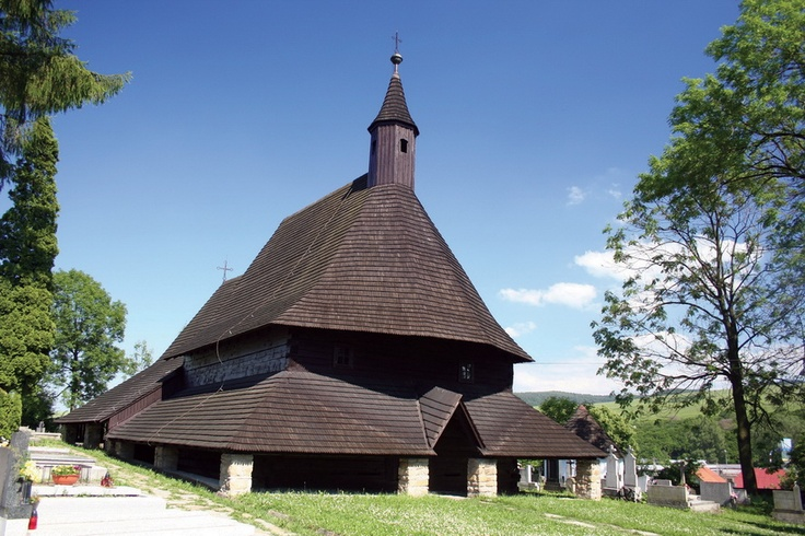 The Wooden Churches of the Slovak part of Carpathian Mountain Area inscribed on the World Heritage List consist of two Roman Catholic, three Protestant and three Greek Orthodox churches built between the 16th and 18th centuries. The property presents good examples of a rich local tradition of religious architecture, marked by the meeting of Latin and Byzantine cultures.