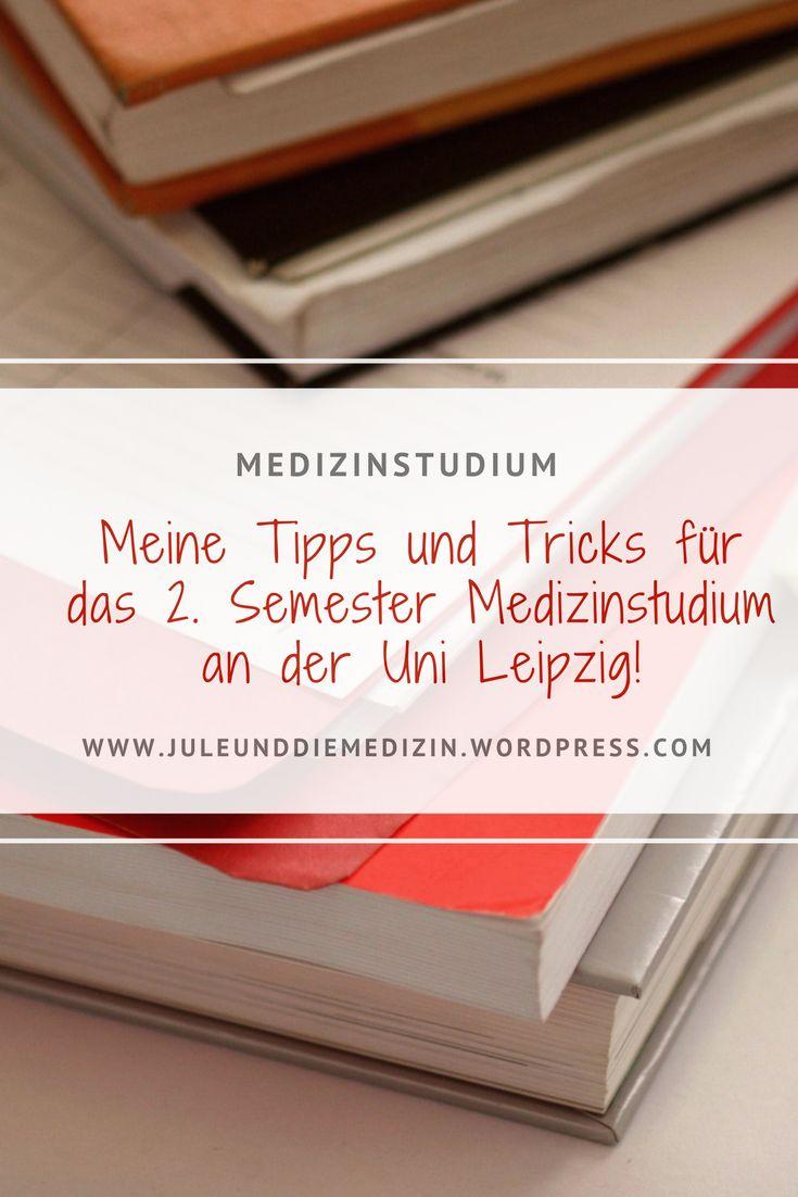 Medizinstudium: Das 2. Semester an der Uni Leipzig! medschool, medstudent, study, student, tips
