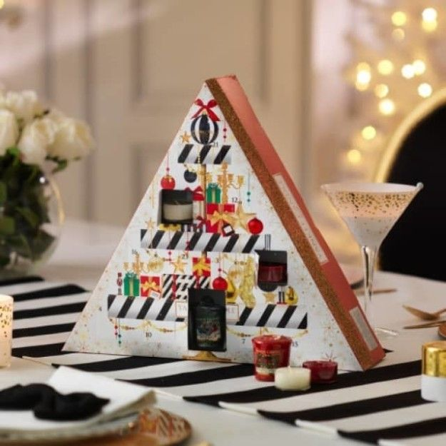 Yankee Candle's Holiday Party Advent Calendar   18 Extra AF Advent Calendars For People Who Go The Extra Mile