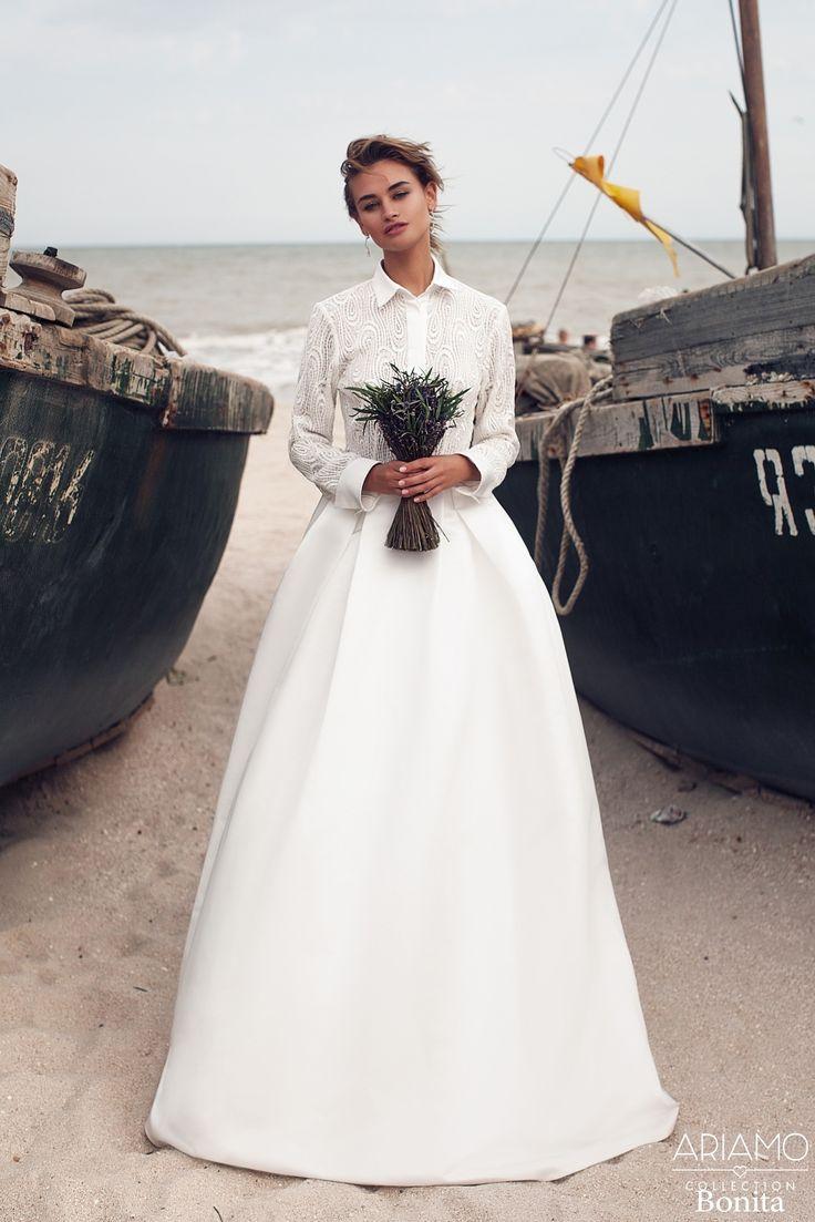 """Свадебное платье """"Бонита"""" Ариамо Брайдал - купить в Москве платье Бонита из коллекции 2016 года"""