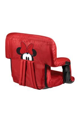 Picnic Time Minnie Mouse - 'Ventura' Portable Reclining Stadium Seat By Picnic Time - Red - One Size