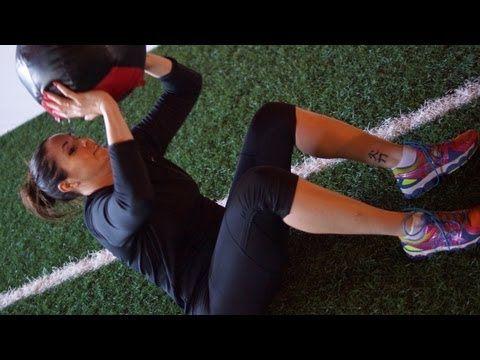 Lindsey Berg's Volleyball Conditioning Workout   Jockington.com