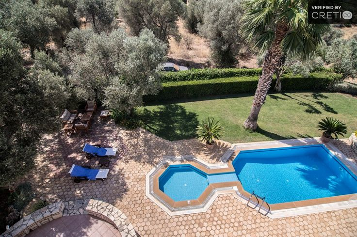 Two bedroom modern and traditional villa on top of the hill, Perama   Cretico