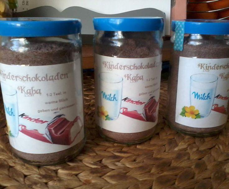 Rezept Kinderschokoladenkaba von dasliebchen - Rezept der Kategorie Grundrezepte