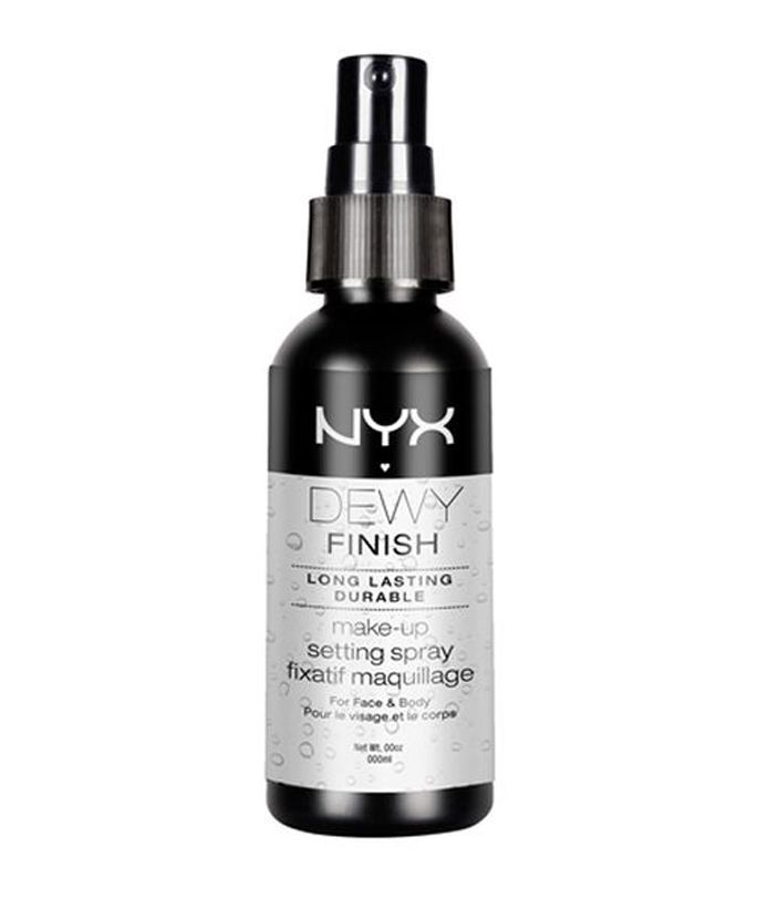 Setting Sprays That Will Keep Your Makeup in Place—No Matter How Much You Sweat - NYX Dewy Makeup Setting Spray  from InStyle.com