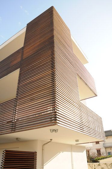 Facade systems | Brise Soleil | RAVAIOLI LEGNAMI. Check it out on Architonic