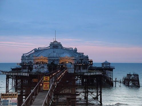 West Pier, Brighton - before the fires & storms