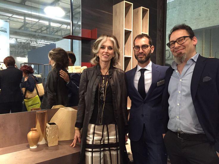 @PaolaMarella @marcopoletti @stefanospessotto presso lo stand Cerasa #marcopoletticluster