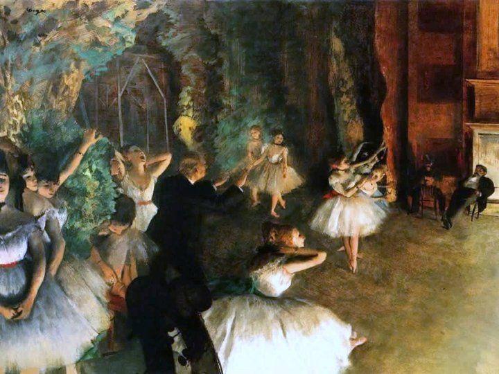 as bailarinas de Degas,pinturas