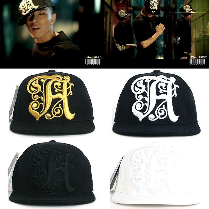 Bigbang Tae Yang H Logo Snapback Baseball Adjustable K-Pop Star Hiphop Hats Caps #hellobincomHow #BaseballHiphop