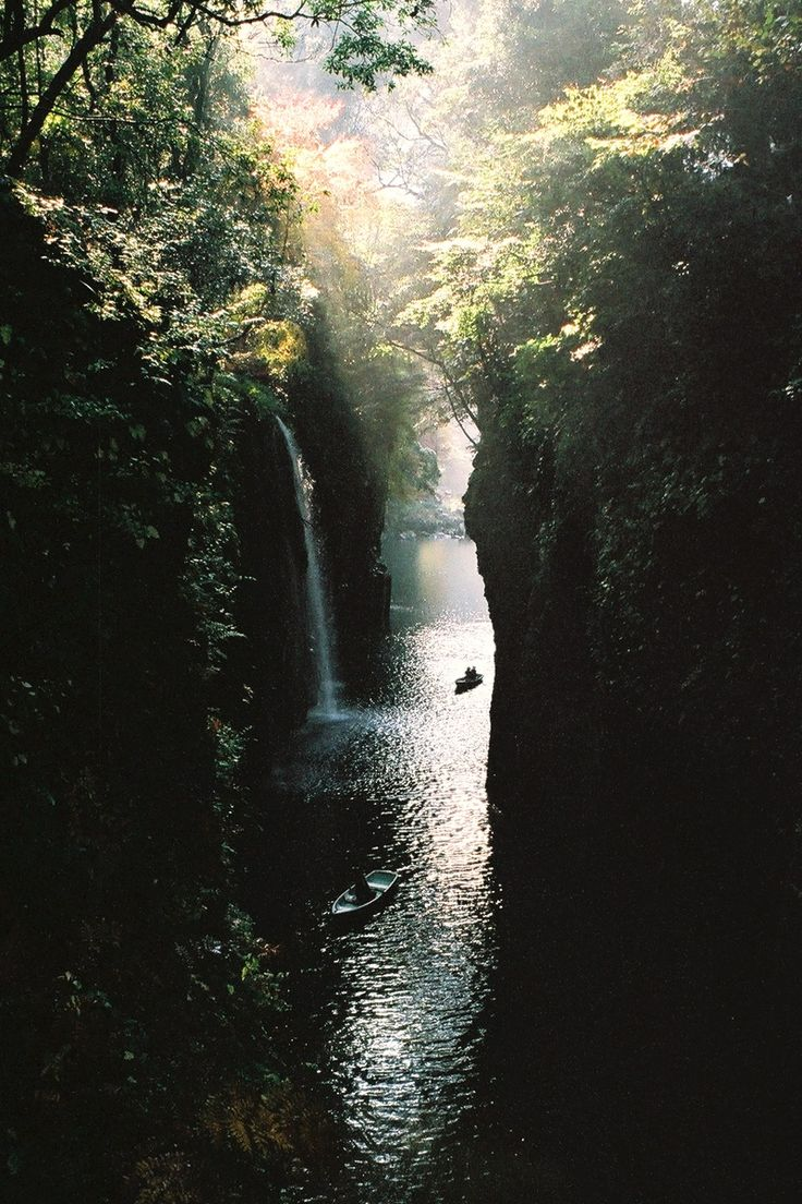 note: Takachiho Gorge, Japan | by James Hadfield.