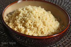 Basic Quinoa Recipe - Quinoa contains all 9 essential amino acids, lysine, phosphorous, copper, iron and magnesium and it is easy to make.