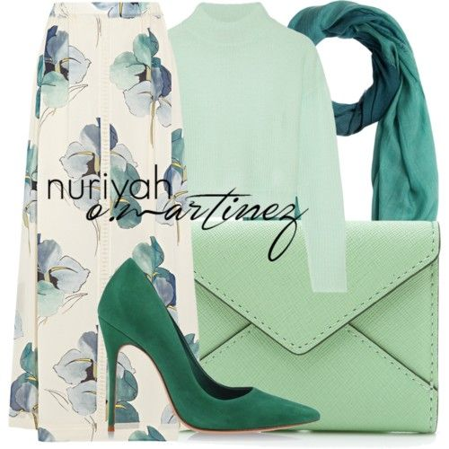Hijab Outfit #565 by hashtaghijab on Polyvore featuring polyvore fashion style Line Tory Burch Schutz Rebecca Minkoff Burberry hijab