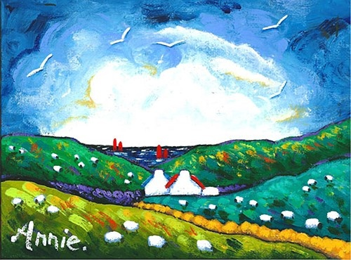 Annie Robinson ''Country Morning, Connemara'' #DukeStreetGallery