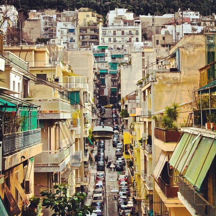Eksarxeia, Athens