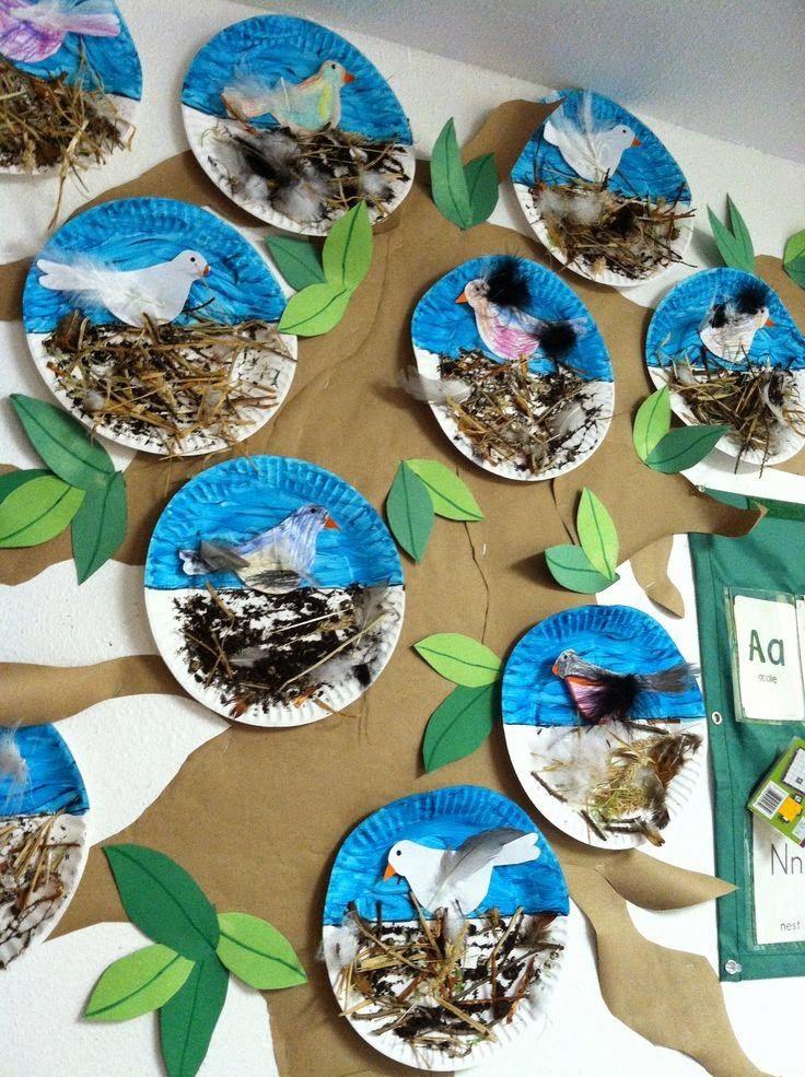 45++ Bird nest craft kindergarten info