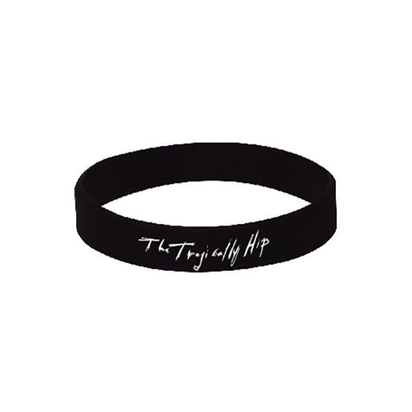 *wish list* Man Machine Poem black rubber bracelet  Gift-Shop-Store   The Tragically Hip