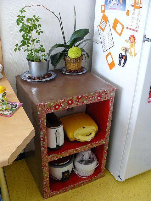 Part II of DIY Cardboard Furniture. Weatherproofing is essential.