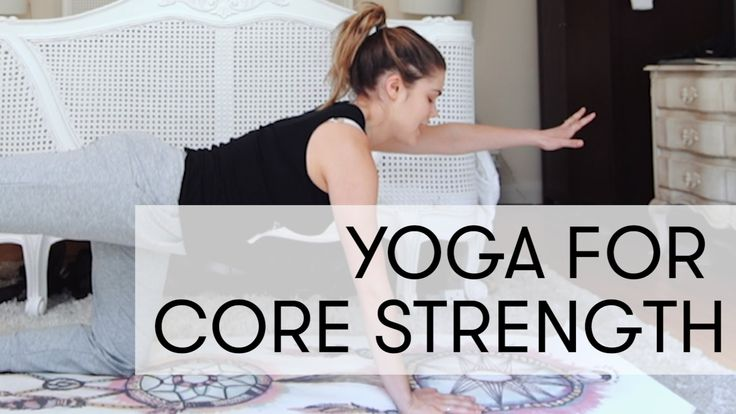 Yoga for Core Strength | Madeleine Shaw