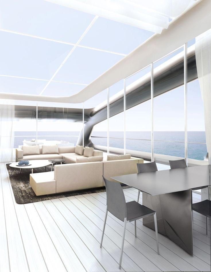 Jolly Roger Mega Yacht By Ludovica Roberto Palomba For Benetti