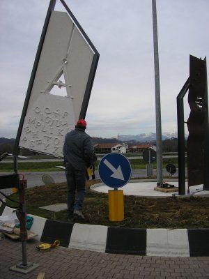 Monumento artigianato Vicenza