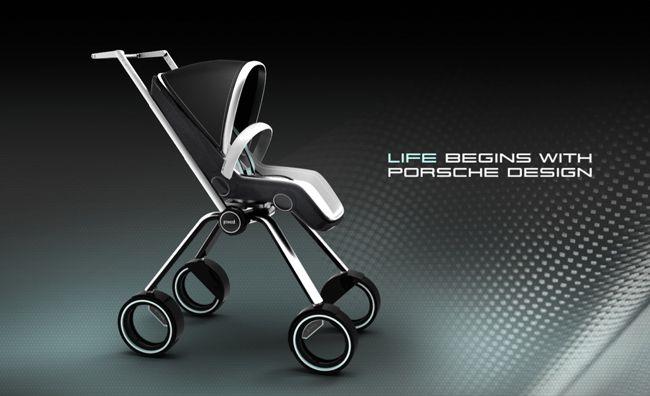 Porsche Design Baby Trolly P'3000