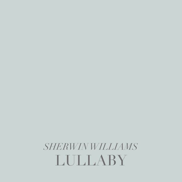 Lullaby by Sherwin Williams SummerHouse designers weigh in on their favorite light paint colors for bedrooms // alwayssummerblog.com