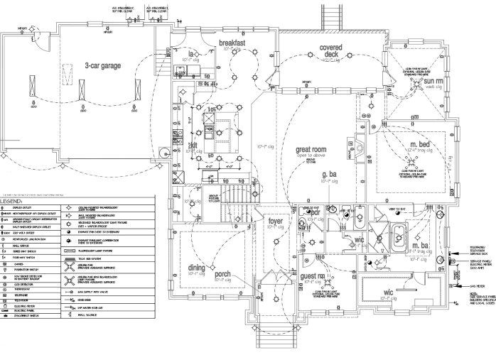 Electrical Plan For House Wiring Diagram