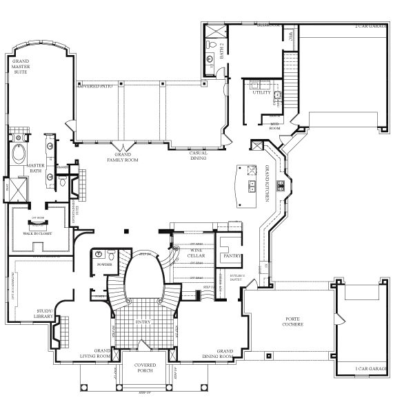 17 Best Images About Large Homes On Pinterest House Plans Architectural House Plans And North