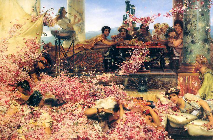 Sir Lawrence Alma-Tadema (1836-1912)  The Roses of Heliogabalus  Oil on canvas  1888